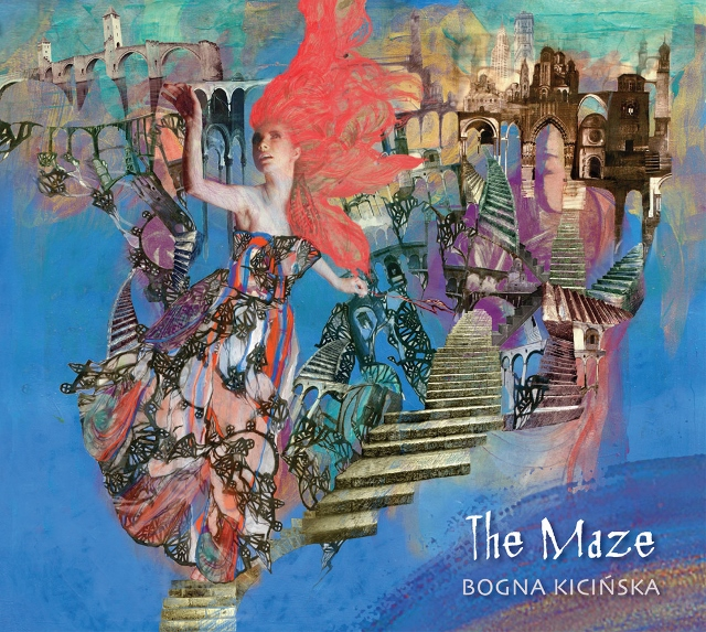 BOGNA KICIŃSKA THE MAZE COVER
